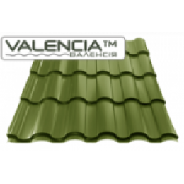 Металлочерепица VALENCIA™ Полиэстер глянец