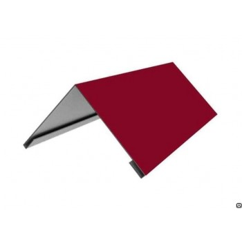 Планка конька цветная (RAL), 2м