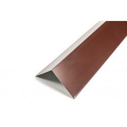 Планка конька цветная (RAL), толщина 0,4мм, 2м