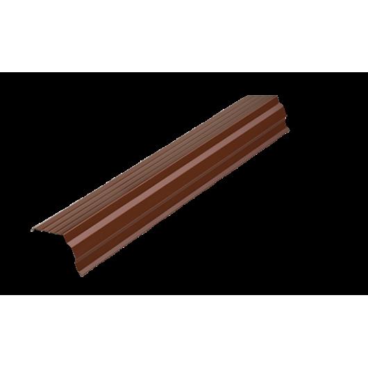 Ветровая планка фигурная, цветная, RAL, 2 м