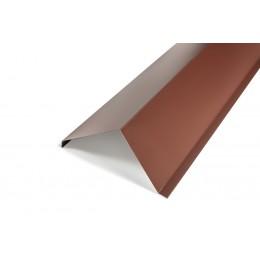 Планка ветровая цветной (RAL), толщина 0,4мм, 2м