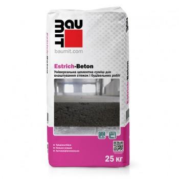 Стяжка цементная Baumit Estrich-Beton универсальная 25 кг