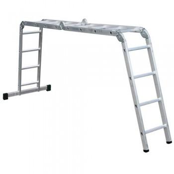 Шарнирная лестница Forte 4x4