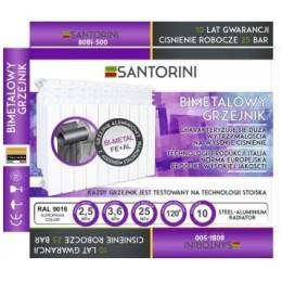 45678 Радиатор биметаллический 500*80 (1780 Вт) Santorini