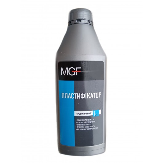 Пластификатор MGF Противоморозный (1л)