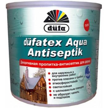 Dufa Лессирующая пропитка/Dufatex aqua махагонь (0,75л)