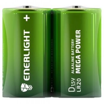 Батар. Enerlight Super Power С  FOL2/ R14