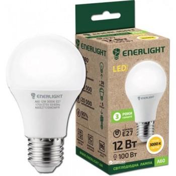 Лампа светодиодная Enerlight A60 12Вт 3000К Е27