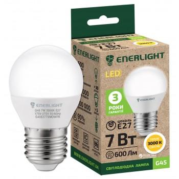 Лампа шар светодиодная Enerlight G45 7Вт 4100К Е27