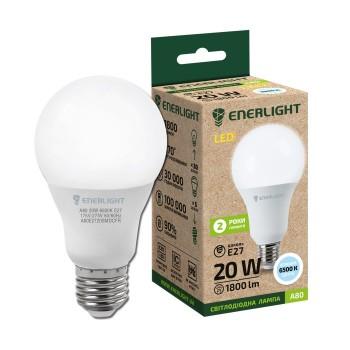 Лампа светодиодная Enerlight A80 20Вт 6500К Е27