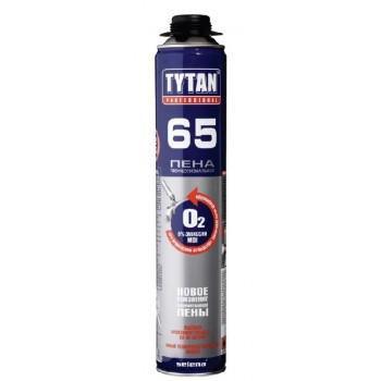 Пены пистолетные TYTAN O2 65, 750 мл
