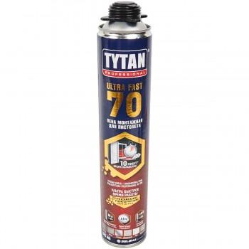 Пены пистолетные TYTAN  ULTRA 70, 870 мл