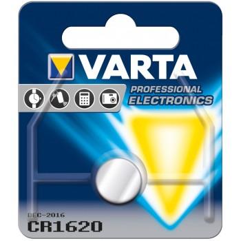 Батар. Varta CR 1620 BLI 1 Lithium, блистер