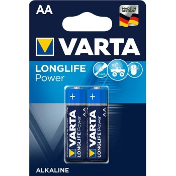 Батар. Varta High Energy/Longlife Power AA BLI  2 Alkaline, блистер(4906)
