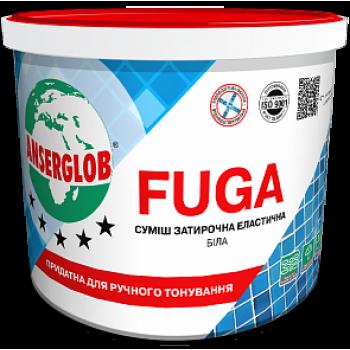 Смесь затирочная эластичная белая ANSERGLOB Fuga, 3кг