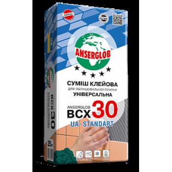 Смесь клеевая для облицовочной плитки ANSERGLOB BCX 30