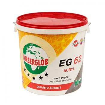 Эмульсия Anserglob EG-62 адгезионная, грунт-краска акриловая