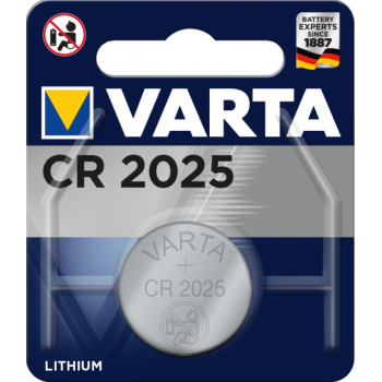 Батар. Varta CR 2025 BLI 1 Lithium, блистер