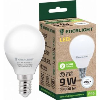 Лампа шар светодиодная Enerlight Р45 9Вт 4100К Е14