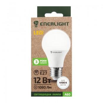 Лампа светодиодная Enerlight A60 12Вт 4100К Е27