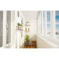 Стены на балконе: варианты обустройства