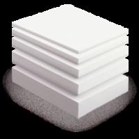Пенопласт ПСБ-С 1000х1000 мм, до 8 кг на 1 м.куб