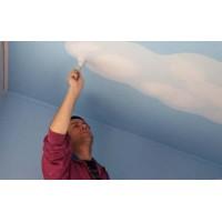 Отделка потолка: подготовка поверхности.