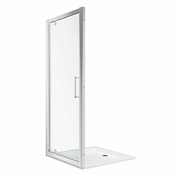 Душевая дверь KOLO PIVOT FIRST прозрачное стекло 80х80 см