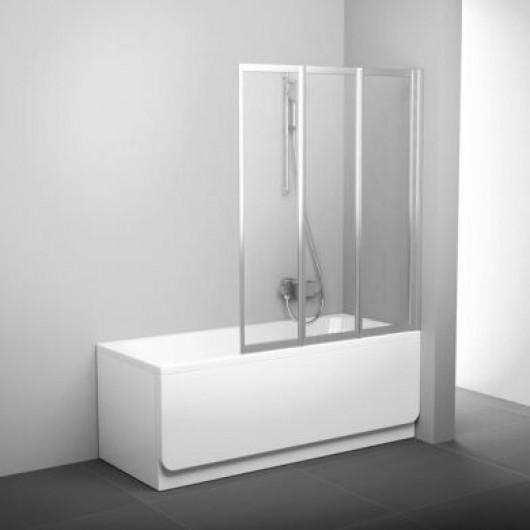 Шторка для ванны Ravak VS3 100 Сатин RAIN