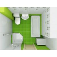 Планировка ванной комнаты.