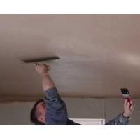 Ремонт потолка. Особенности штукатурных работ.