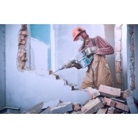 Демонтаж дома для повторного строительства