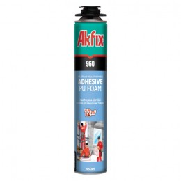 Клей-пена для утеплителя  Akfix
