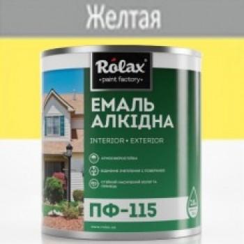 Эмаль ПФ-115  желтая (0,25 кг)(уп-20шт) 522