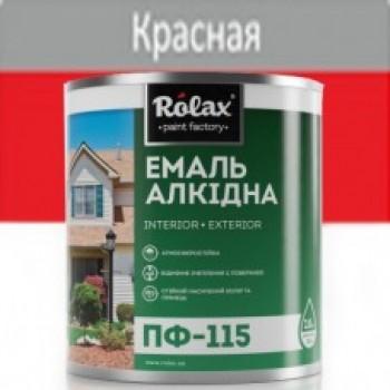 Эмаль ПФ-115  красная (0,25 кг)(уп-20шт) 524