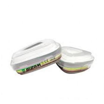Фильтр-трапец. к полумаске для защиты от органичных газов(ком 2шт)PROFILTR