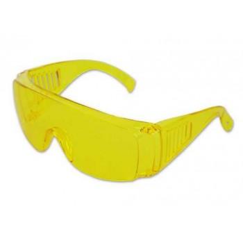 Очки открытые защитные с желтыми линзами OVER SPEC