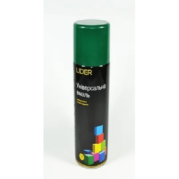 LIDER Аэрозоль 6005 темно-зеленый (400 мл)