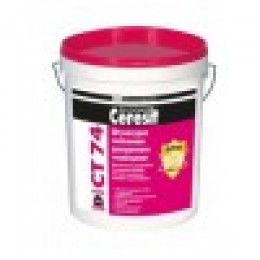 Ceresit СТ 74. Декоративная штукатурка на силиконовой основе.