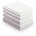 Пенопласт ПСБ-С 1000х1000 мм, до 13 кг на 1 м.куб - Фото №1