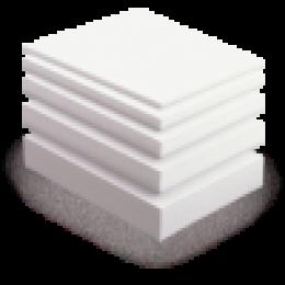 Пенопласт ПСБ-С 1000х1000 мм, до 22 кг на 1 м.куб